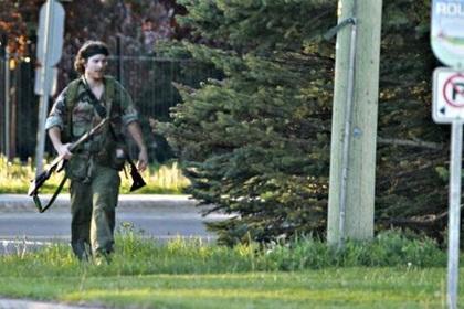 Житель Канады застрелил троих полицейских