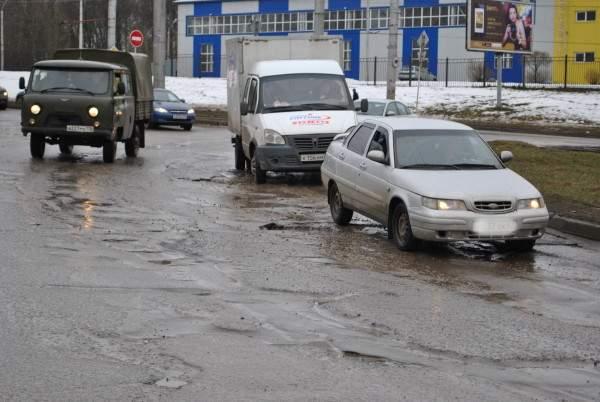 Ремонт улицы Рыленкова в Смоленске откладывается