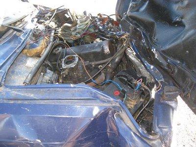 20-летний шофер Skoda Felicia разбился насмерть вместе с пассажиром
