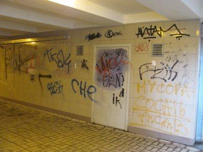 В «подземке» появятся высокохудожественные граффити под антивандальной краской