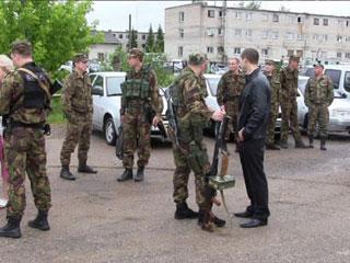 Смоленские бойцы СОБРа уехали в командировку на Северный Кавказ