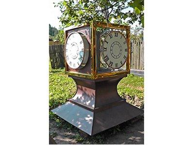 В Вязьме появятся шестиметровые уличные часы