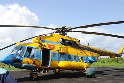 16 вьетнамских военных погибли при крушении вертолета
