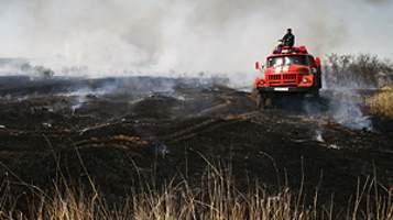 В двух районах Смоленской области установлен высокий класс пожарной опасности