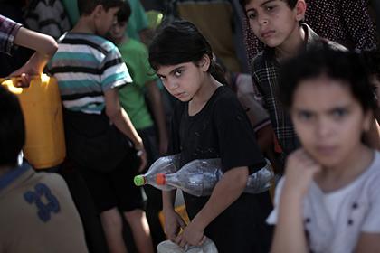 Израиль приостановил боевые действия в секторе Газа