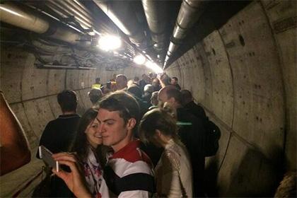 Из тоннеля под Ла-Маншем эвакуировали пассажиров
