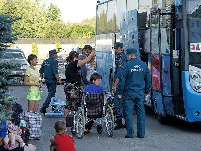 На Смоленщину привезли 105 украинских беженцев