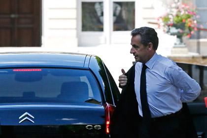 Саркози задержали для допроса по делу о превышении полномочий