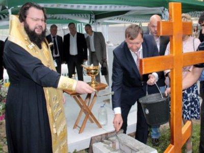 В Смоленске на территории завода «Кентавр» построят храм