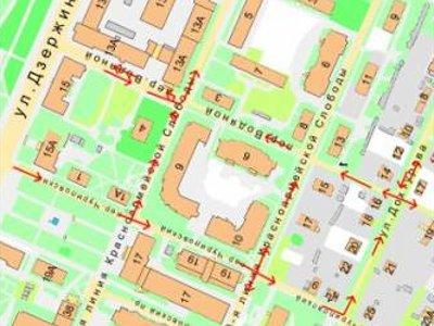 В центре Смоленска изменят схему движения