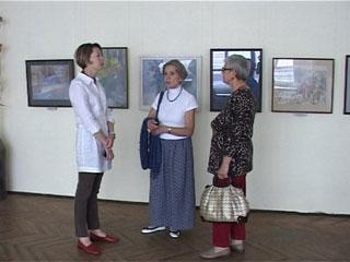 В Смоленском Доме художника открылась выставка «Два взгляда»