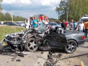 Страшная авария возле гипермаркета «Метро» унесла три жизни