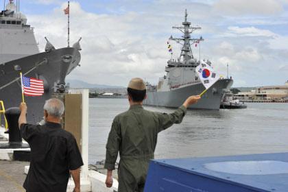 Южная Корея и США начали военные учения
