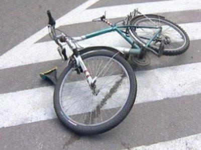 На улице райцентра Ford Focus сбил юного велосипедиста, ехавшего по «зебре»