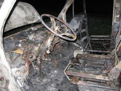 Хозяин «четверки» сгорел вместе с машиной