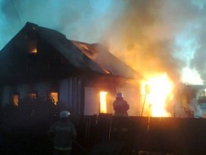 Чета обгорела и осталась без крыши над головой из-за неполадок с газоснабжением