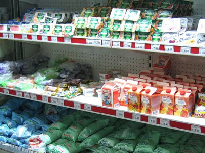 В области упали цены на «молочку», кроме сметаны