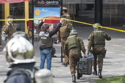 В метро чилийской столицы прогремел взрыв