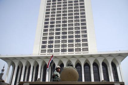 У здания МИД Египта в Каире прогремел взрыв