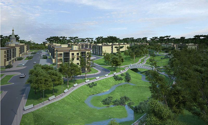 ЖК Воздух: современный жилой комплекс в двух шагах от города