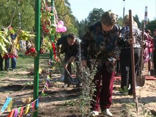 В Смоленске для беженцев устроили праздник осени