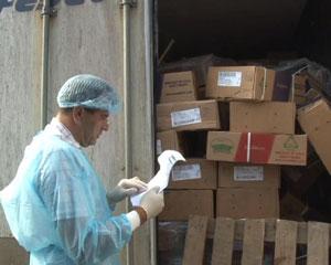 Смоленские таможенники предотвращают импорт продукции из стран Евросоюза