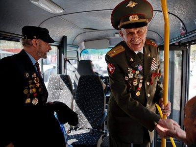 25 сентября общественный транспорт станет бесплатным для ветеранов