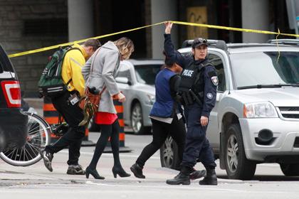 Из больницы в Оттаве выписаны трое пострадавших при стрельбе