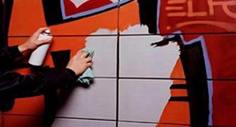 Как уберечь фасадные панели от граффити?