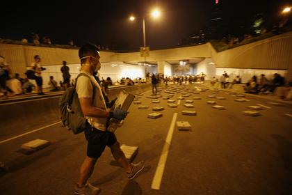 В ходе беспорядков в Гонконге арестованы 45 человек