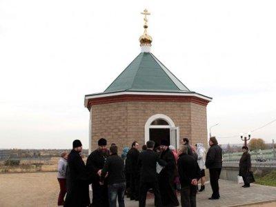 В Ярцеве построили часовню в честь Сергия Радонежского