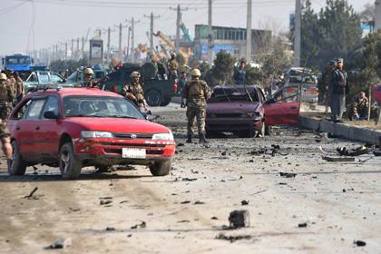 В Кабуле смертник атаковал военный конвой у британского посольства