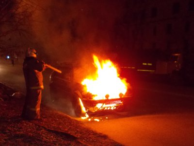 В Смоленске поймали двух поджигателей Daewoo Nexia