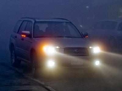 Автомобилистов предупредили о тумане и гололедице на выходных