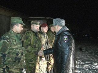 Смоленский СОБР вернулся из служебной командировки