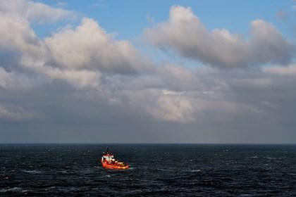У берегов Японии затонуло судно