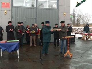 В Смоленской области открылась современная пожарная часть