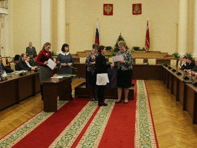 В областной администрации чествовали лучших молодых ученых Смоленщины