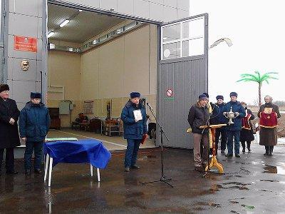 В Демидовском районе открылось пожарное депо