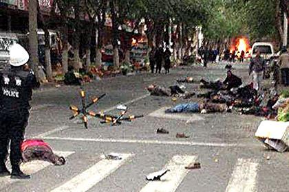 В Китае восемь террористов приговорены к смертной казни