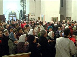 Православные отмечают начало Рождественского поста