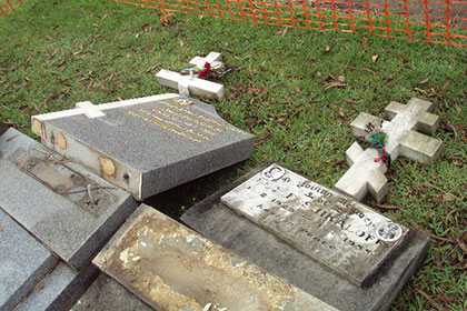 Вандалы осквернили русское кладбище в Сиднее