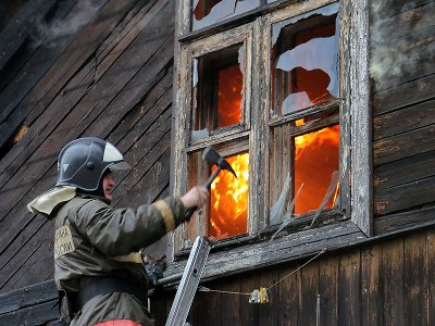 Пожар на улице Шевченко вызвал проблемы с движением транспорта