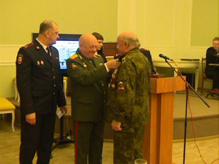 Смоленским афганцам вручили медали
