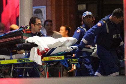 В Австралии начался штурм кафе с заложниками