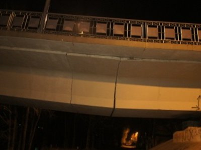 Разрушением моста в Велиже занялось следствие