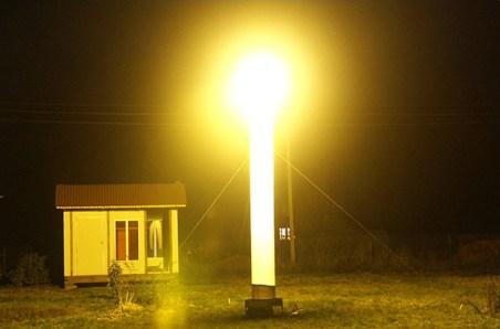 Осветительная мачта, световая башня, осветительная вышка