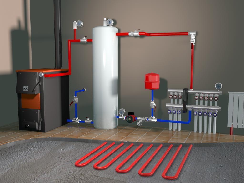 «Теплый Контур» – продажа и монтаж систем отопления и водоснабжения по доступной цене