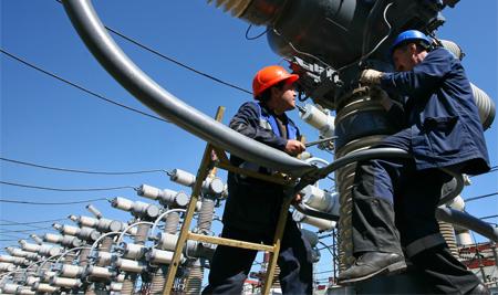 Присоединение к электросетям