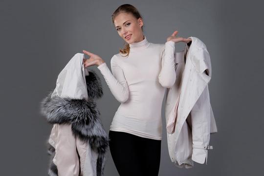 Пальто из натурального меха – красиво и тепло